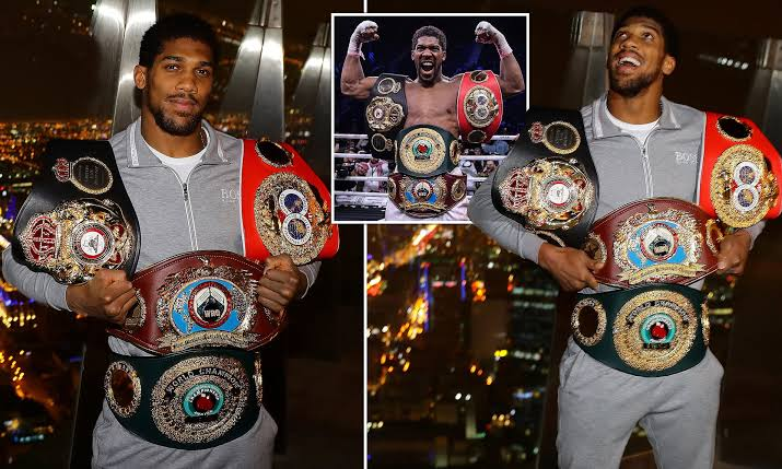 """""""I'm Coming Towards The End Of My Career"""" - Anthony Joshua Announces Retirement Date 1"""