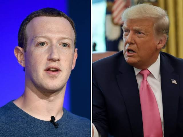 US President Donald Trump Banned From Facebook And Instagram Indefinitely 1
