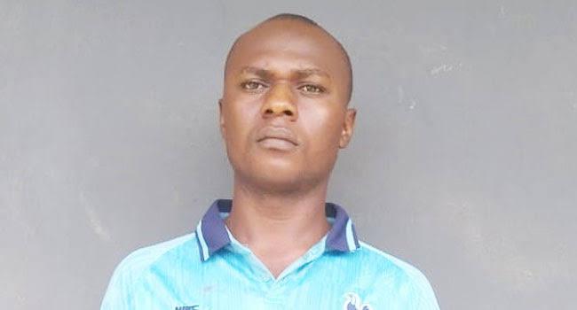 Police Arrests Church Ex-Guard, Mela Samaila For Stealing Offering Box In Ogun State 1
