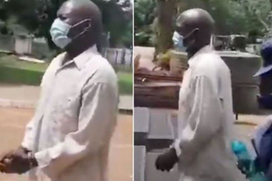 Man Attempts To Have Sεx With Woman's Corpse In Front Of Her Family At Her Funeral 1