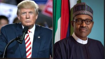 APC Urges Trump To Emulate How Buhari Handled Defeat After Losing Election 2