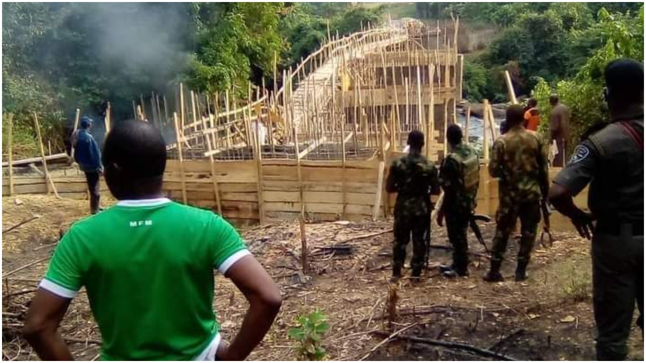 Ogun Ogovernment Orders Demolition Of N20m Bridge Constructed By Unknown Persons 1