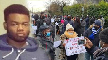 27-Year-Old Nigerian Man, George Nkencho Shot Six Times By Police In Ireland 4