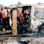Two Women Escapes Death As 20 Persons Burns Beyond Recognition In Bauchi Auto-Crash 12