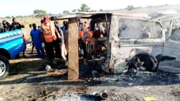Two Women Escapes Death As 20 Persons Burns Beyond Recognition In Bauchi Auto-Crash 1