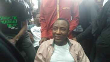 Court Grants Sowore N20 Million Bail For Protesting Against Buhari's Bad Governance 5