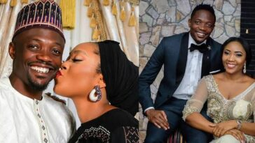 Footballer, Ahmed Musa Crticized By Muslims For Sharing Loved-Up Photo With His Wife 3