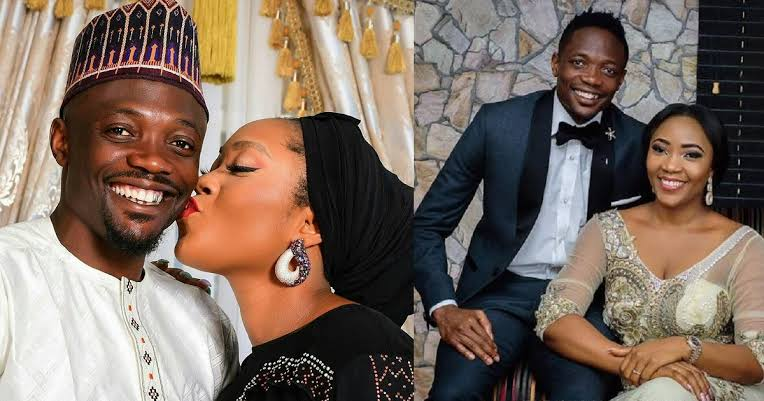Footballer, Ahmed Musa Crticized By Muslims For Sharing Loved-Up Photo With His Wife 1