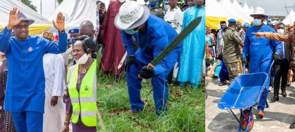 Nigerians Attacks Festus Keyamo For Distributing Cutlasses, Wheel-Barrows As Empowerment Tools 1