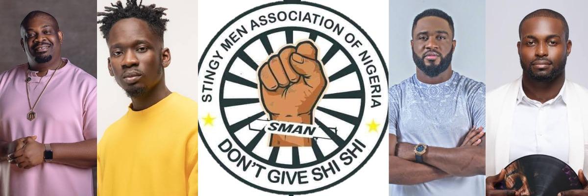 SMAN: Don Jazzy, Mr Eazi, Praiz And DJ Neptune Joins 'Stingy Men Association Of Nigeria' 1