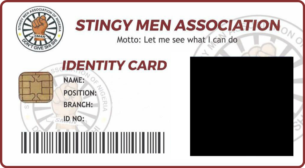 How to download Stingy Men Association ID card and Form 3
