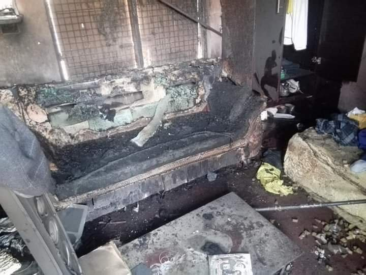 Girl Sets Boyfriend Ablaze for reportedly paying a girls  bride price. 3