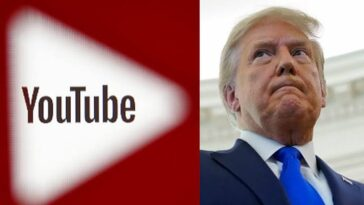 More Trouble For President Donald Trump As YouTube Suspends His Channel 4