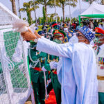 Drama As Pigeons Released By Buhari Refuse To Fly At Armed Forces Remembrance [Video] 27