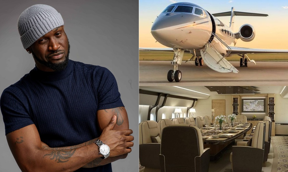 Peter Okoye Says He Wants To Own This Private Jet Before He Clocks 50 Years 1