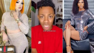 """Bobrisky Threatened To Kill Me If I Don't Quit Crossdressing"" - James Brown Cries Out [Video] 11"