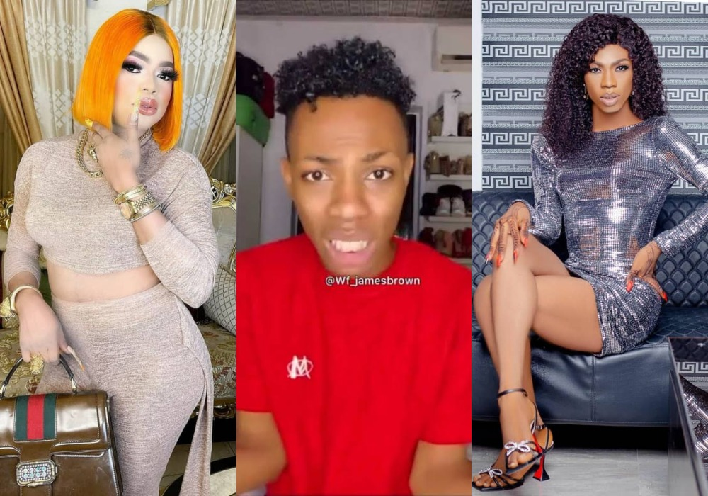 """""""Bobrisky Threatened To Kill Me If I Don't Quit Crossdressing"""" - James Brown Cries Out [Video] 1"""