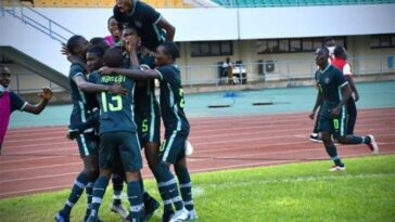 WAFU U-17: Nigeria's Golden Eaglets Qualifies For AFCON After Defeating Burkina Faso 1