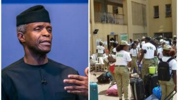 NYSC Ignores Osinbajo, Orders Corpers To Camp On Tuesday Amid COVID-19 Surge 12