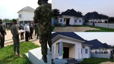 Governor Ikpeazu Presents 2 New Houses As Official Quarters To Abia Security Chiefs 12
