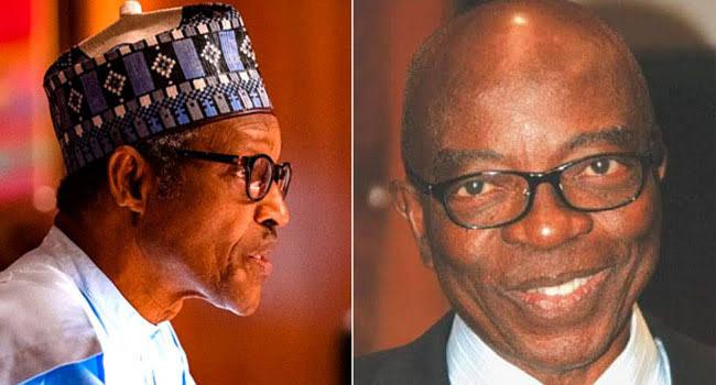 President Buhari Mourns Ex-Minister Jubril Martins-Kuye, Says Nigeria Will Miss Him 1