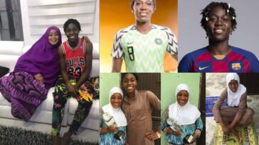 """Life Hit Us Hard In Places We Can't Respond"" - Asisat Oshoala Mourns As She Loses Her Mum 2"
