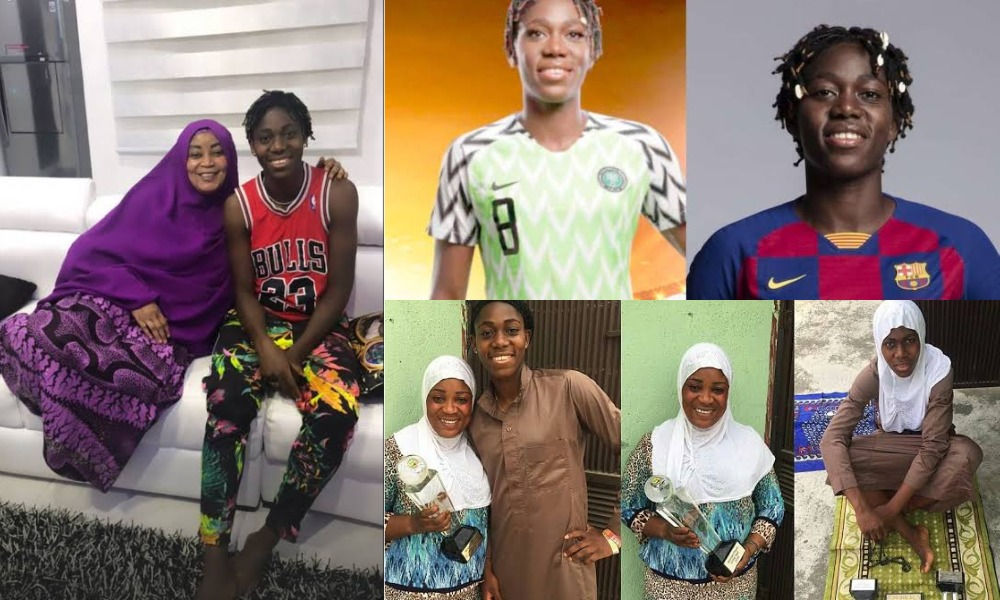 """Life Hit Us Hard In Places We Can't Respond"" - Asisat Oshoala Mourns As She Loses Her Mum 1"