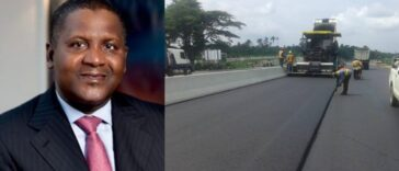 Dangote Completes Nigeria's Longest Concrete Road Linking North And South 22