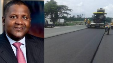 Dangote Completes Nigeria's Longest Concrete Road Linking North And South 8