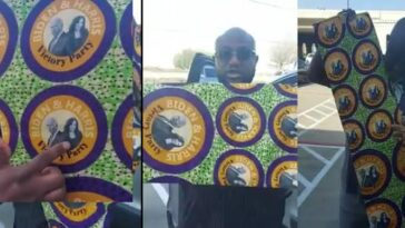 Nigerians Pick 'Aso Ebi' For Joe Biden And Kamala Harris Inauguration in US [Video] 6