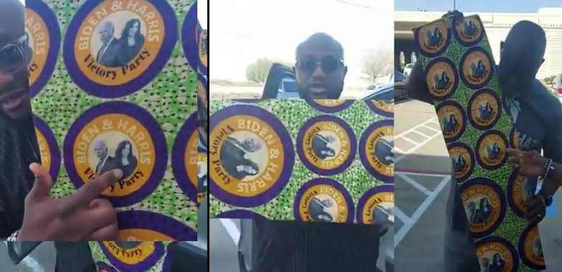 Nigerians Pick 'Aso Ebi' For Joe Biden And Kamala Harris Inauguration in US [Video] 1