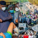 Abiodun Bans Trucks, Trailers From Flyovers As Three Die In Ogun Tanker Explosion 11