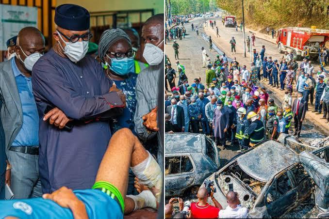 Abiodun Bans Trucks, Trailers From Flyovers As Three Die In Ogun Tanker Explosion 1