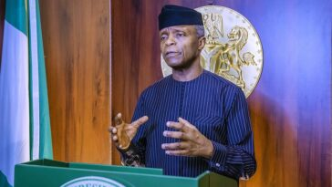 Osinbajo Says FG Will Lift 20m Nigerians Out Of Poverty In Two Years With N5,000 10