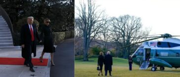 Trump And Melania Finally Leaves White House Ahead Of Biden's Inauguration [Video] 23