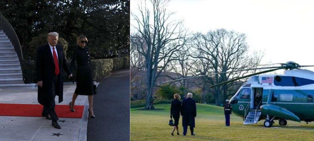 Trump And Melania Finally Leaves White House Ahead Of Biden's Inauguration [Video] 1