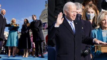 Joe Biden Sworn In As US President, Calls For Peace And Unity Among Americans [Video] 3