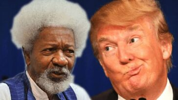 Wole Soyinka Says He Have Forgiven Americans For Voting 'Racist, Monster Trump' 7