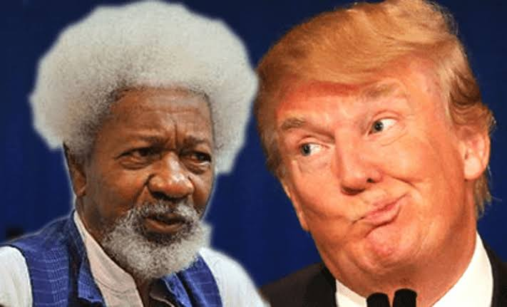 Wole Soyinka Says He Have Forgiven Americans For Voting 'Racist, Monster Trump' 1