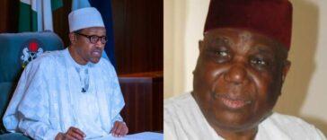 """Nigeria Lost A Great Son"" - President Buhari Mourns Former IGP, Gambo Jimeta 21"