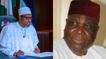 """Nigeria Lost A Great Son"" - President Buhari Mourns Former IGP, Gambo Jimeta 11"