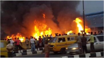 Many Feared Dead, Burnt Beyond Recognition As Gas Plant Explodes In Agbor, Delta [Video] 7