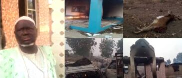Yoruba Youths Expels Seriki Fulani From Oyo Community, Burns His Palace, 11 Cars 24
