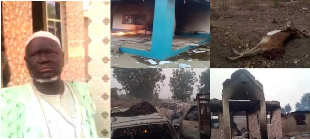 Yoruba Youths Expels Seriki Fulani From Oyo Community, Burns His Palace, 11 Cars 1