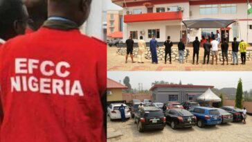 EFCC Arrests 11 Suspected 'Yahoo Boys' With 12 Exotic Cars In Osogbo [Photos] 7