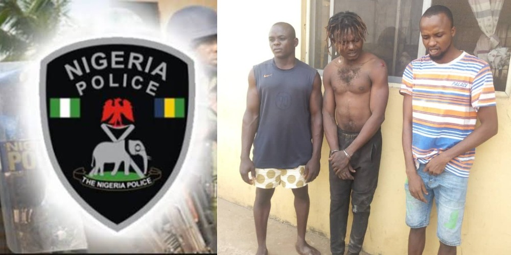 Police Arrest 3 Suspect For Beating 23-Year-Old Man To Death Over Phone Theft In Ogun 1