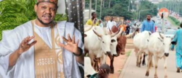 Adamu Garba Criticizes Fulani Herdsmen For Roaming The Streets With Cows 24
