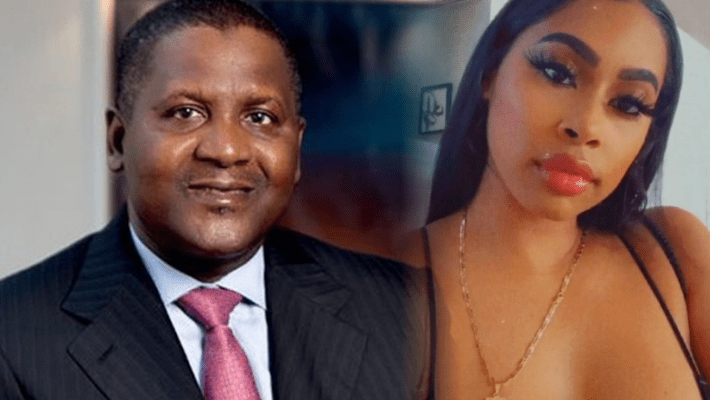 Dangote Files $30,000 Lawsuit Against American Mistress For Exposing His Buttocks On Social Media 1
