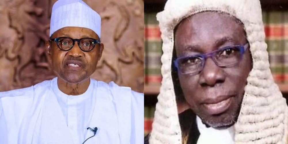 President Buhari Reacts As Former AGF, Abdullahi Ibrahim Dies Of Coronavirus 1