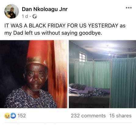 Veteran Nollywood Actor, Dan Nkoloagu Dies At Age Of 83 2